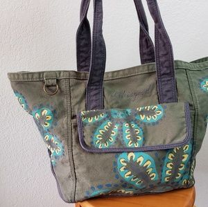 Life is good canvas tote